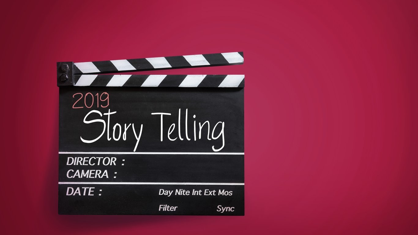 2019-video-story-telling-on-movie-Clapper-board
